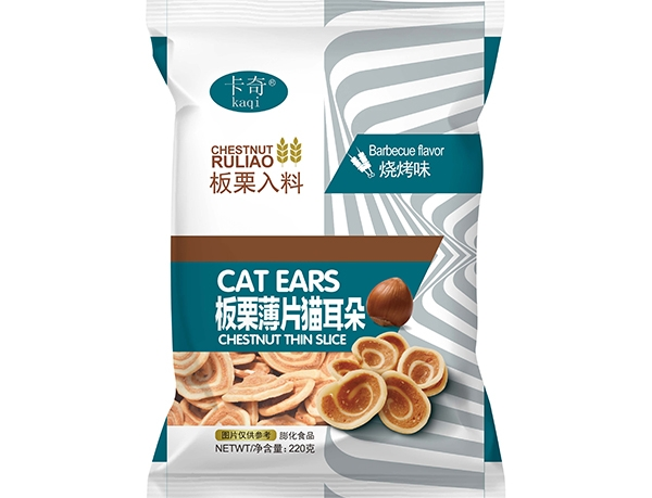 220g chestnut slice cat ears-Barbecue flavor