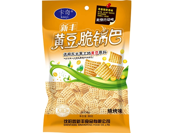 90g Xinfeng crispy rice crispy with soybeans-Barbecue flavor